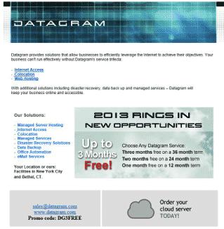 Datagram Promo