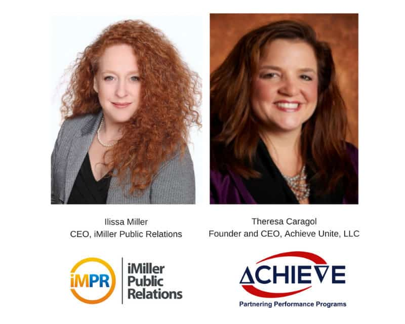 Achieve Unite and iMiller Public Relations Host '5 Steps to a Win-Win Channel Program That Drives Revenue Growth' Webinar