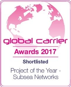Capacity Magazine Names Aqua Comms a Global Carrier Award Finalist