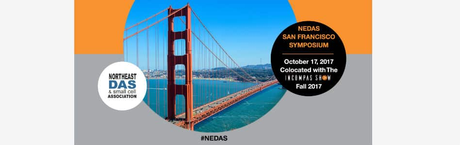 ZenFi to Speak at Northeast DAS & Small Cell Association San Francisco Symposium Colocated With INCOMPAS Show: Fall 2017