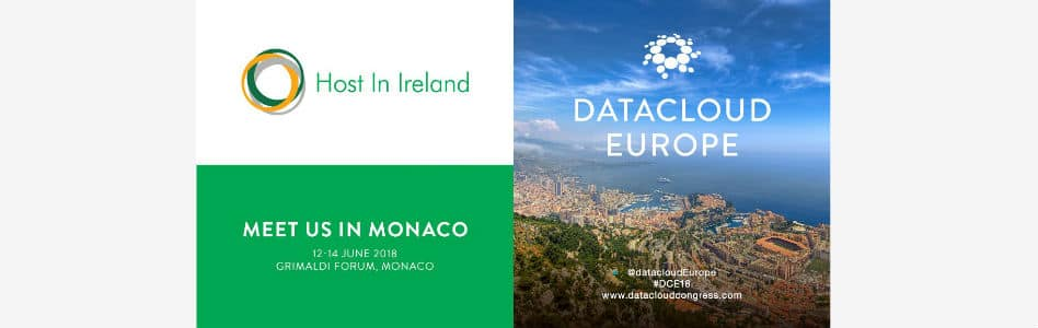Host in Ireland to Sponsor at Datacloud Europe 2018