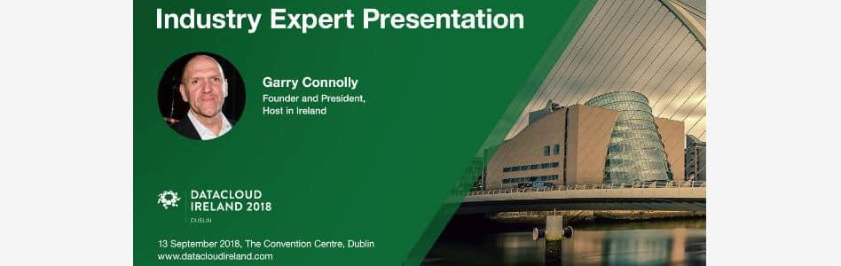 Host in Ireland to Speak at Datacloud Ireland 2018