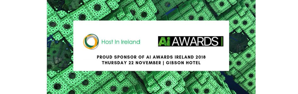 Host in Ireland to Sponsor at AI Awards