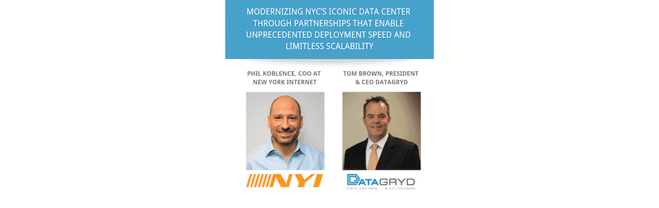 Modernizing NYC's Iconic Data Center through a Partnership that Enables Unprecedented Deployment Speed and Limitless Scalability