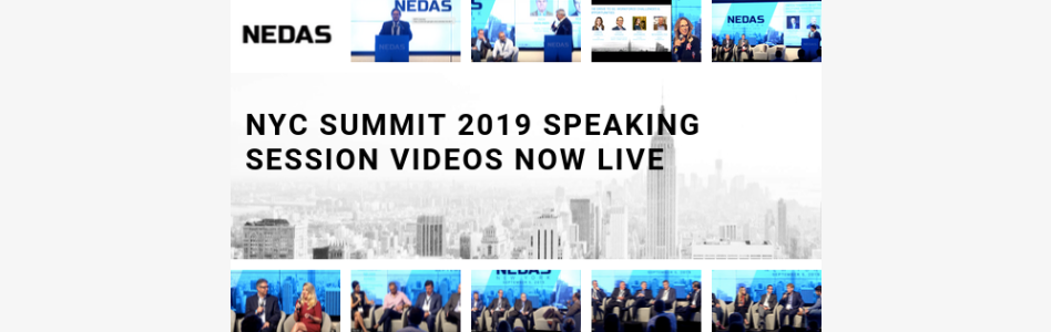 NEDAS Releases NYC Summit 2019 Speaking Session Videos