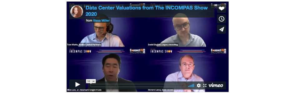 Experts Opine on Data Center Valuations at The INCOMPAS Show 2020