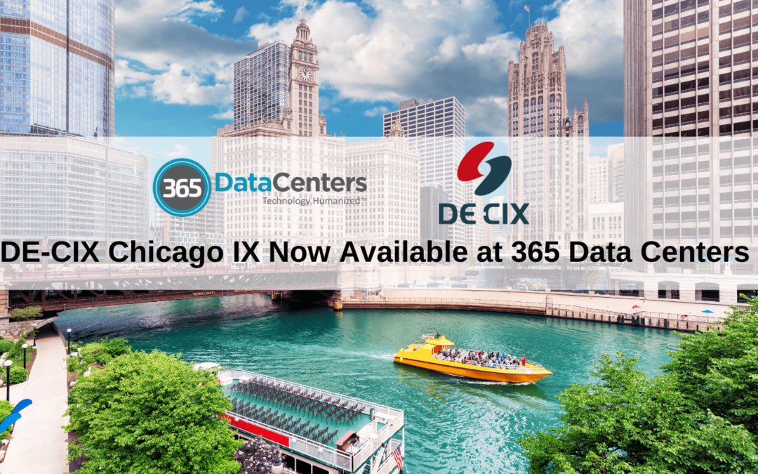 DE-CIX Chicago IX Lights Up 365 Data Centers