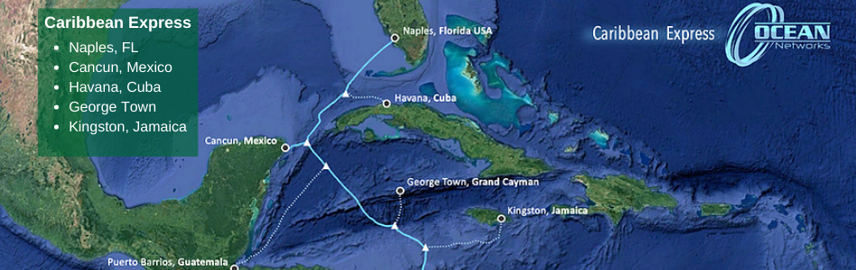 Ocean Networks Unveils New US-Caribbean Submarine Cable System