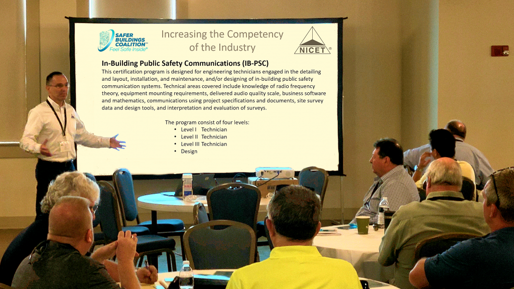 Safer Buildings Coalition and NICET Announce National In-Building Public Safety Communications Certification Program is Now Available